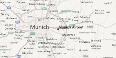 Munchen Kart Kart I Munchen I Bayern Tyskland